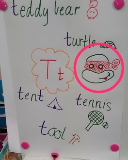 Sitting in Prep classes has been fun, I drew a Turtle, I am now popular...